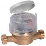 Contatore d'acqua e rubinetto per contatore